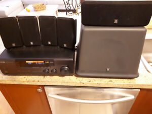 Boston Acoustic Home Theater System and Sub