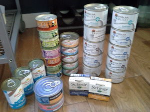 Huge Lot of Luxury Holistic Wet and Dry Cat Food