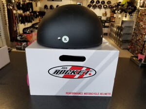 Joe Rocket DOT Motorcycle Half Helmet