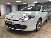 Renault Laguna 2.0dCi Tom Tom Edition DIESEL WHITE SAT NAV BLUETOOTH WARRANTY