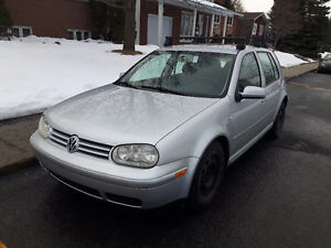 2001 Volkswagen Golf GLS Berline