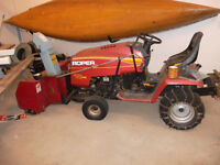 Roper Tractor with Attachments