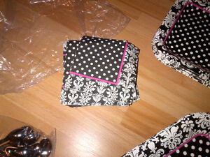 Black and white party supplies; Paris themed Kitchener / Waterloo Kitchener Area image 3