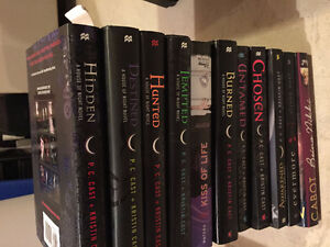 House of Night series & extra books