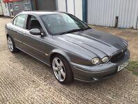 Jaguar x type 3.0 auto petrol 2005 161k miles mot Aug 17