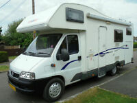 2006 CI Carioca 665 6 Berth Motorhome NOW SOLD SIMILAR REQUIRED