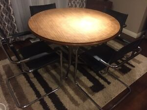 Mid century style retro table and chairs
