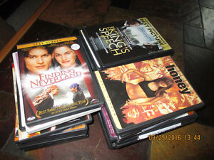 25 Assorted DVD movies