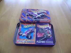 HOT WHEELS TIN WITH CARDS Windsor Region Ontario image 1