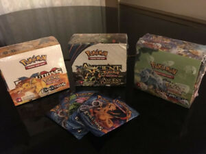 POKÉMON  TRADING CARD GAME Booster et Booster box 36