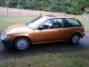 Urgent MUST SELL 1990 Honda Civic SI Hatchback
