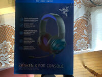 Razer Kraken X Gaming Headset works for old and new consoles