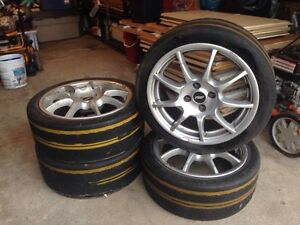 "TSW ""Spirit"" Alloy Rims - 205/40 R16 - 4x100mm"