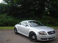 Audi TT 1.8 T Quattro 3dr **180 BHP+2003+LOW MILES+CAMBELT CHANGED**07704445634
