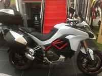 DUCATI MULTISTRADA 1200 S TOURING PACK WITH TOP BOX. FULLY LOADED 2015 DVT MODEL