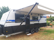Luxury Great Escape 21 ft Family Caravan Hire Hoppers Crossing Wyndham Area Preview