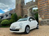 2011 Fiat 500 1.2 Lounge 3dr [Start Stop] HATCHBACK Petrol Manual