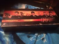For sale a box set of 007 VHS films