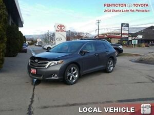 2014 Toyota Venza AWD V6 Limited  - one owner - local - trade-in