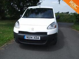 Peugeot Partner 1.6 HDi 3 Front seats, FSH, Superb condition, Bennett Van Sales