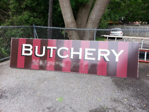 3 Professional Quality Awnings/Signs