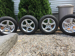 Bridgestone Winter Blizzak Tires + Rims