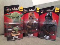 Disney infinity Star Wars figures