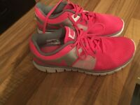 Pink Nike Trainers 5.5