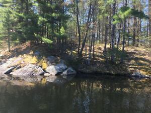 Muskoka Vacant Waterfront Lot for Sale