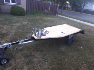 Motorcycle/Dirtbike trailer. Drive on and lock in