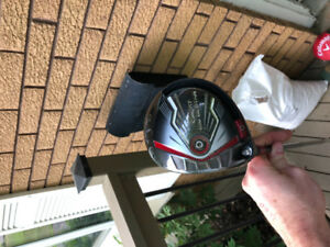 2016 Callaway Big Bertha Left Handed Driver with 2 shafts