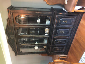 Gorgeous Re-Finished China Cabinet For Sale