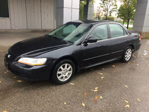 2002 Honda Accord 180k Kms Certified