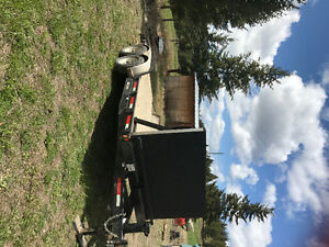 20 foot car trailer