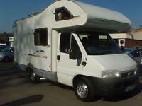 2002 Swift sundance Fiat 2.0l Diesel 4 berth Motorhome