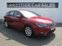 2015 SEAT Leon 1.6 TDI Ecomotive SE (Tech Pack) ST (s/s) 5dr Diesel red Manual