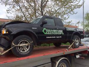 Parts out, plusieurs pièces de Ford Ranger 2004