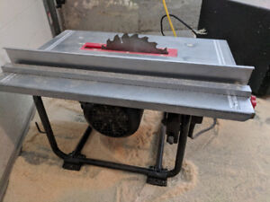 Table saw- Jobmate 8 1/4""