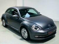 VW VOLKSWAGEN BEETLE DESIGN 2.0 TDI 140 DIESEL GREY 2013 HATCH MANUAL BUG