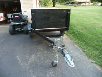 Utility Trailer 4 x 8    Also have a small 5 ft 6inch  x 42 inch