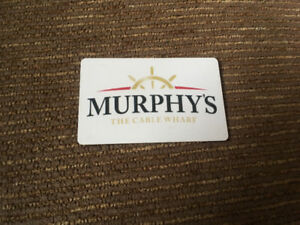 Murphy's on the water $150 gift card