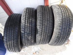 USED P265/65/18 TIRES