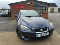 2006 Lexus IS 2.2TD Multimedia MANUAL DIESEL PX WELCOME