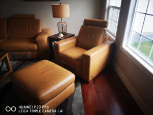 Natuzzi Couch and chairs