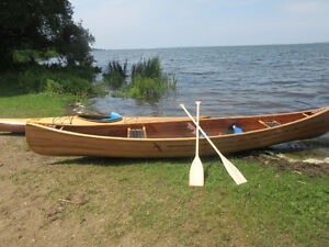 16' cedar strip canoe