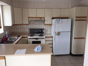 Armoires a donner /  kitchen cabinets to give