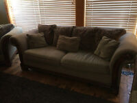Matching Couch, Chair Living Room Set for Sale