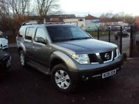 NISSAN PATHFINDER 2.5 dCi SVE 5dr 7SEAT FSH MOT LEATHER ALLOY 6SP EXTRA NEW TYRE