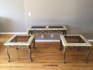 Sofa Table and 2 End/Side Tables