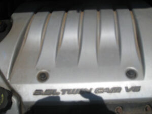 v6 turbo  chev motor and tranmision